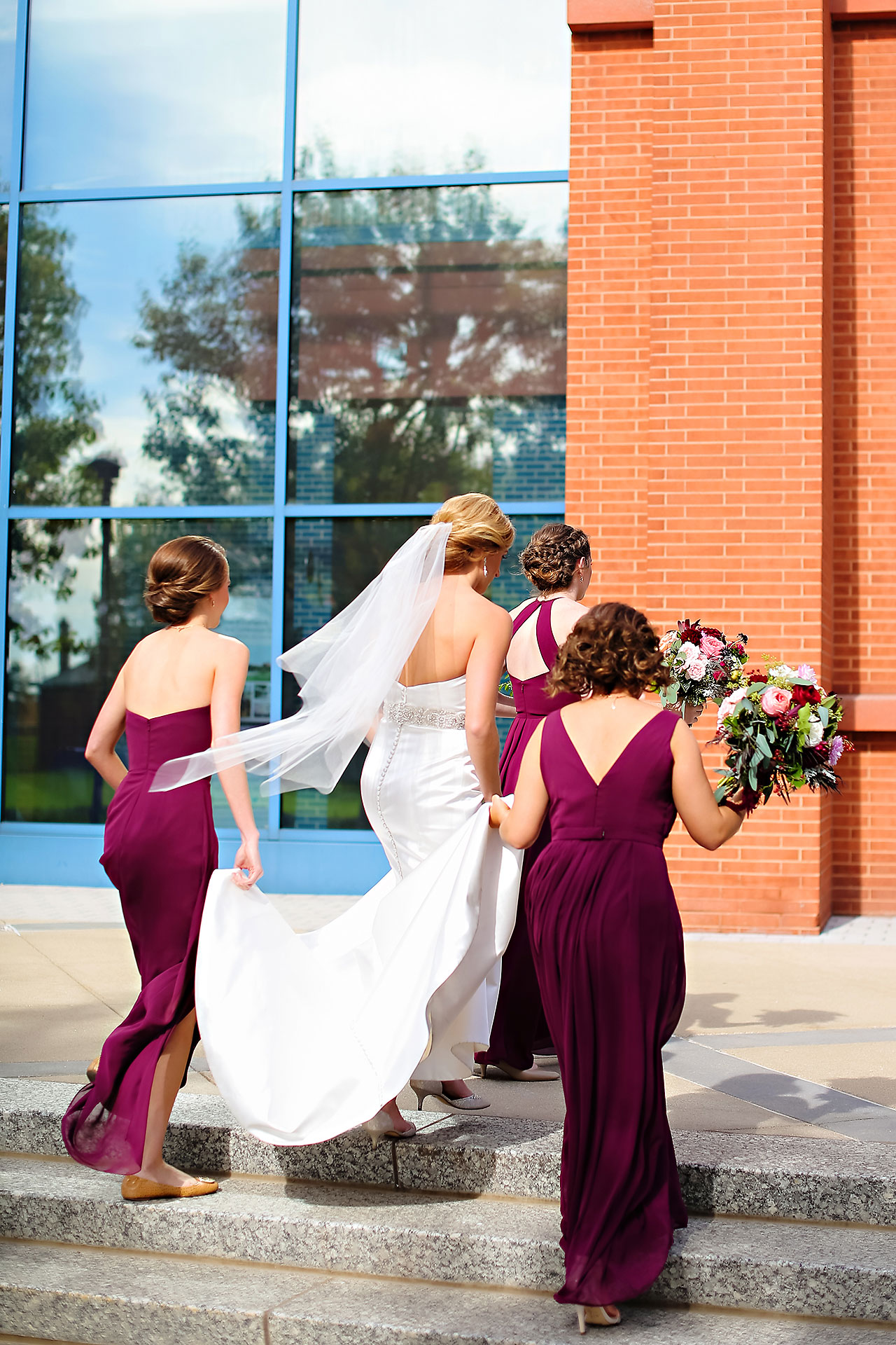 Kayci Matt Indiana Roof Ballroom Indianapolis Wedding 152