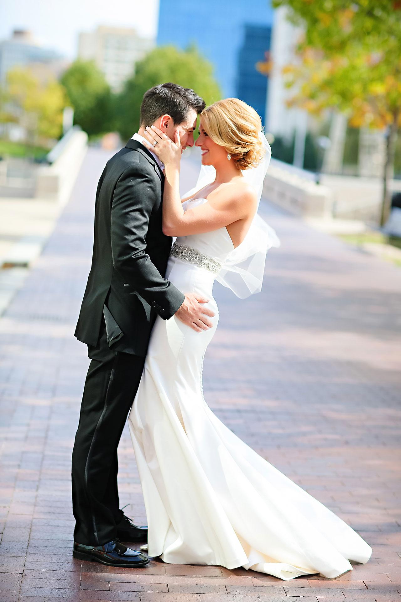 Kayci Matt Indiana Roof Ballroom Indianapolis Wedding 153
