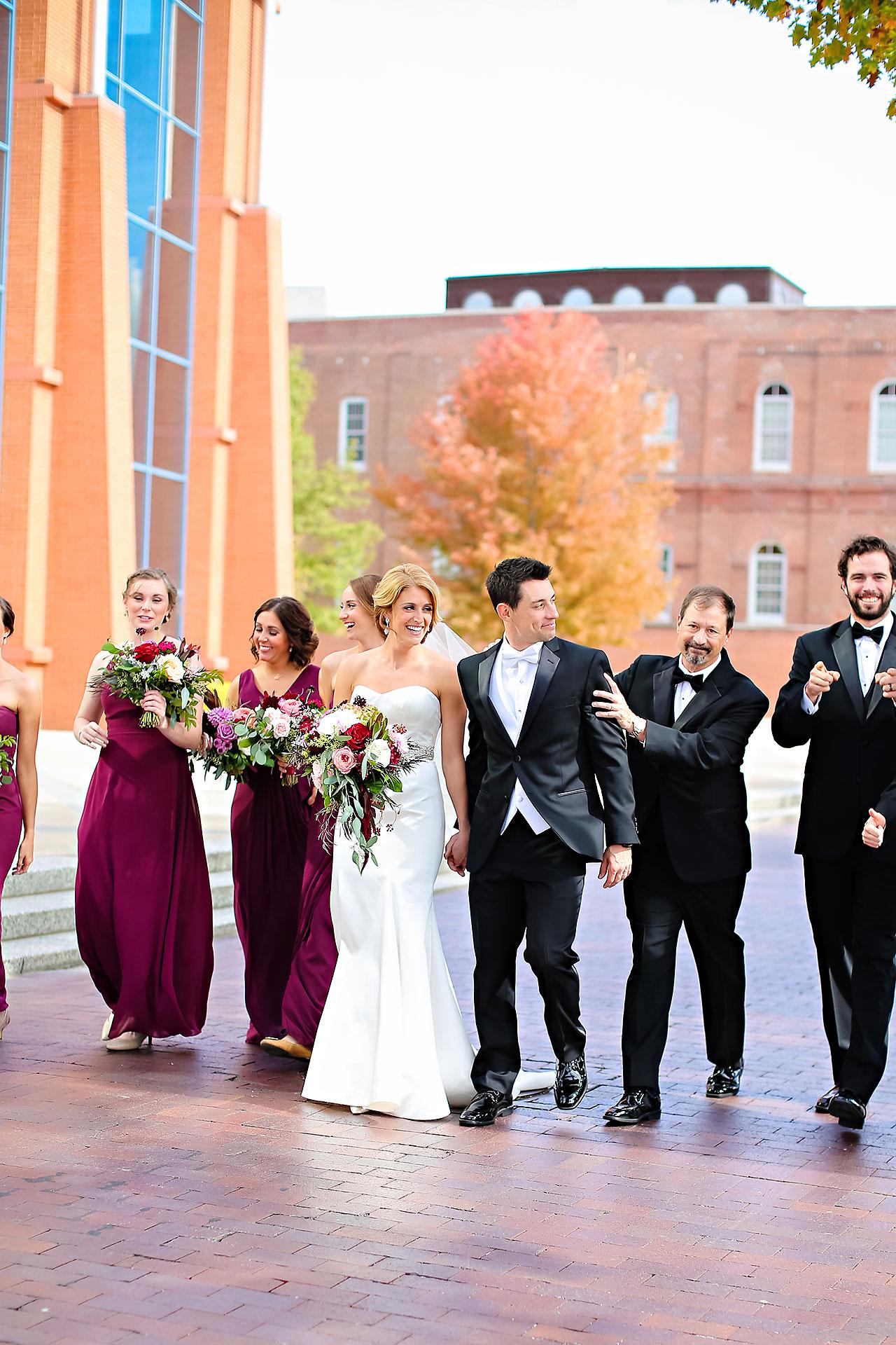 Kayci Matt Indiana Roof Ballroom Indianapolis Wedding 148
