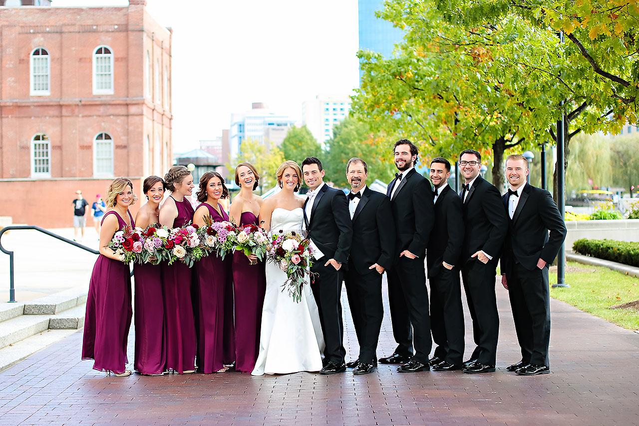 Kayci Matt Indiana Roof Ballroom Indianapolis Wedding 142