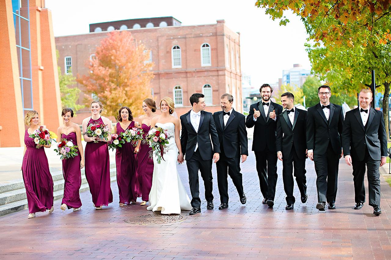 Kayci Matt Indiana Roof Ballroom Indianapolis Wedding 140