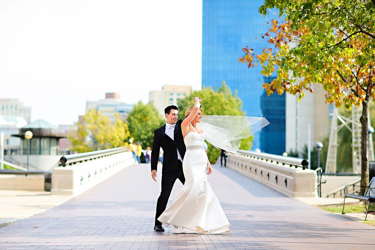 Kayci Matt Indiana Roof Ballroom Indianapolis Wedding 141