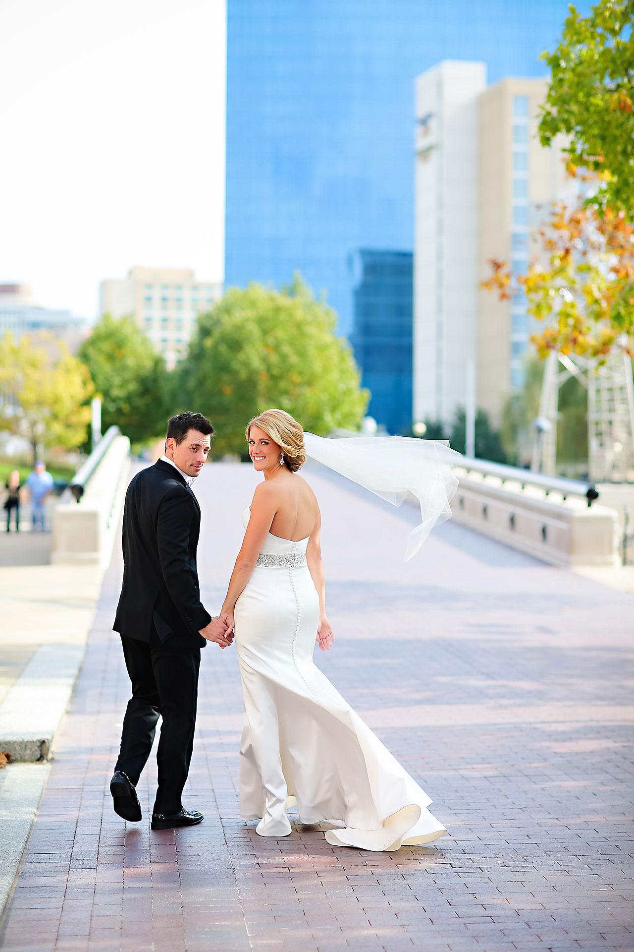 Kayci Matt Indiana Roof Ballroom Indianapolis Wedding 130