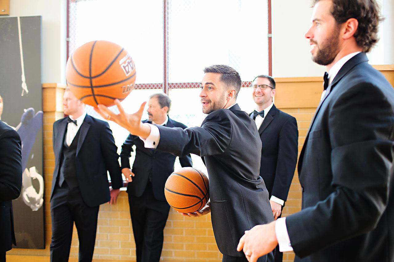 Kayci Matt Indiana Roof Ballroom Indianapolis Wedding 103