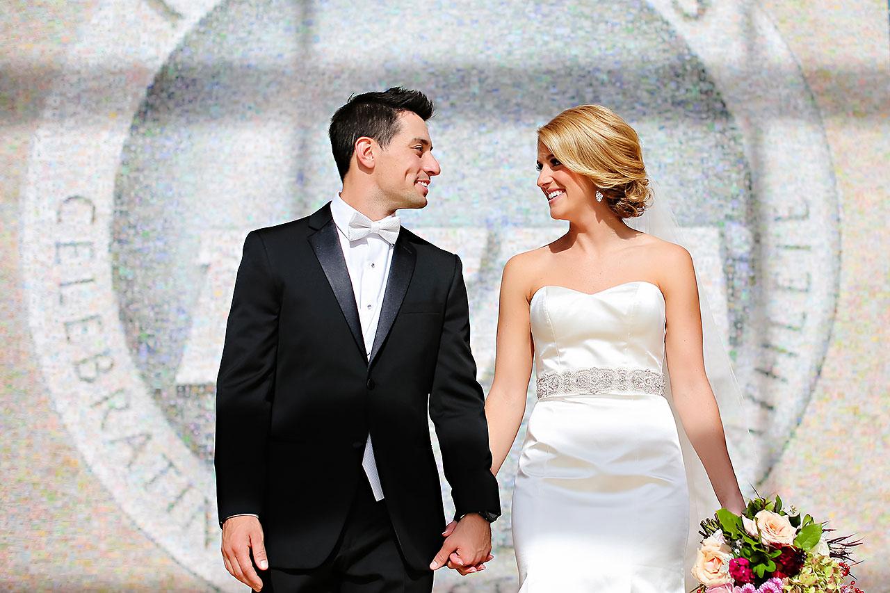 Kayci Matt Indiana Roof Ballroom Indianapolis Wedding 100