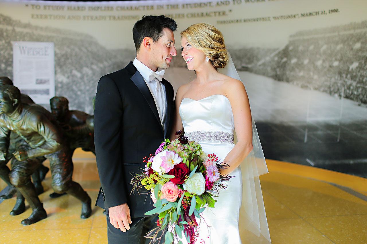 Kayci Matt Indiana Roof Ballroom Indianapolis Wedding 093