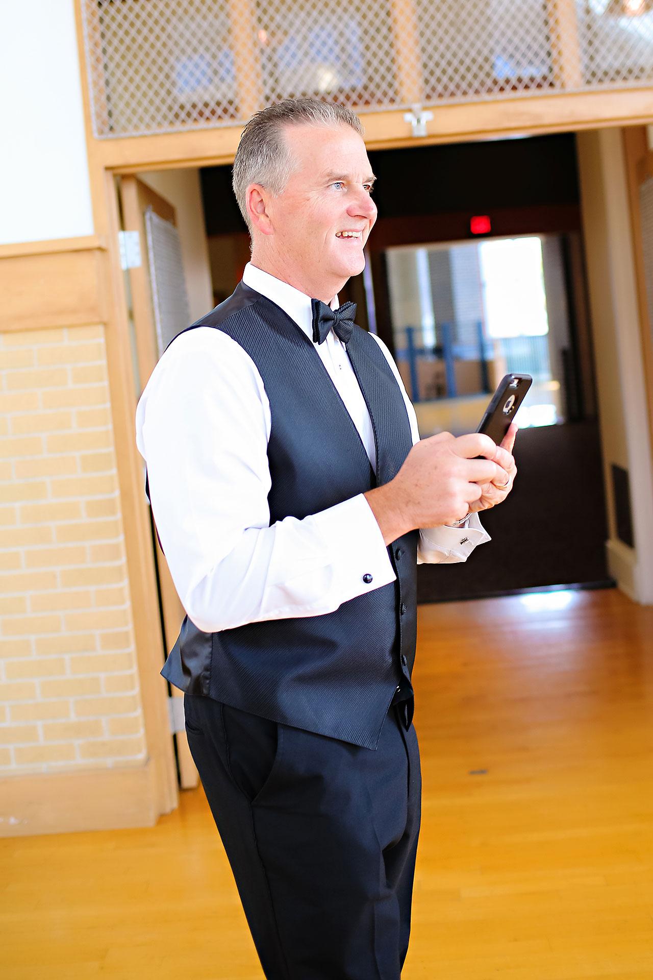 Kayci Matt Indiana Roof Ballroom Indianapolis Wedding 094