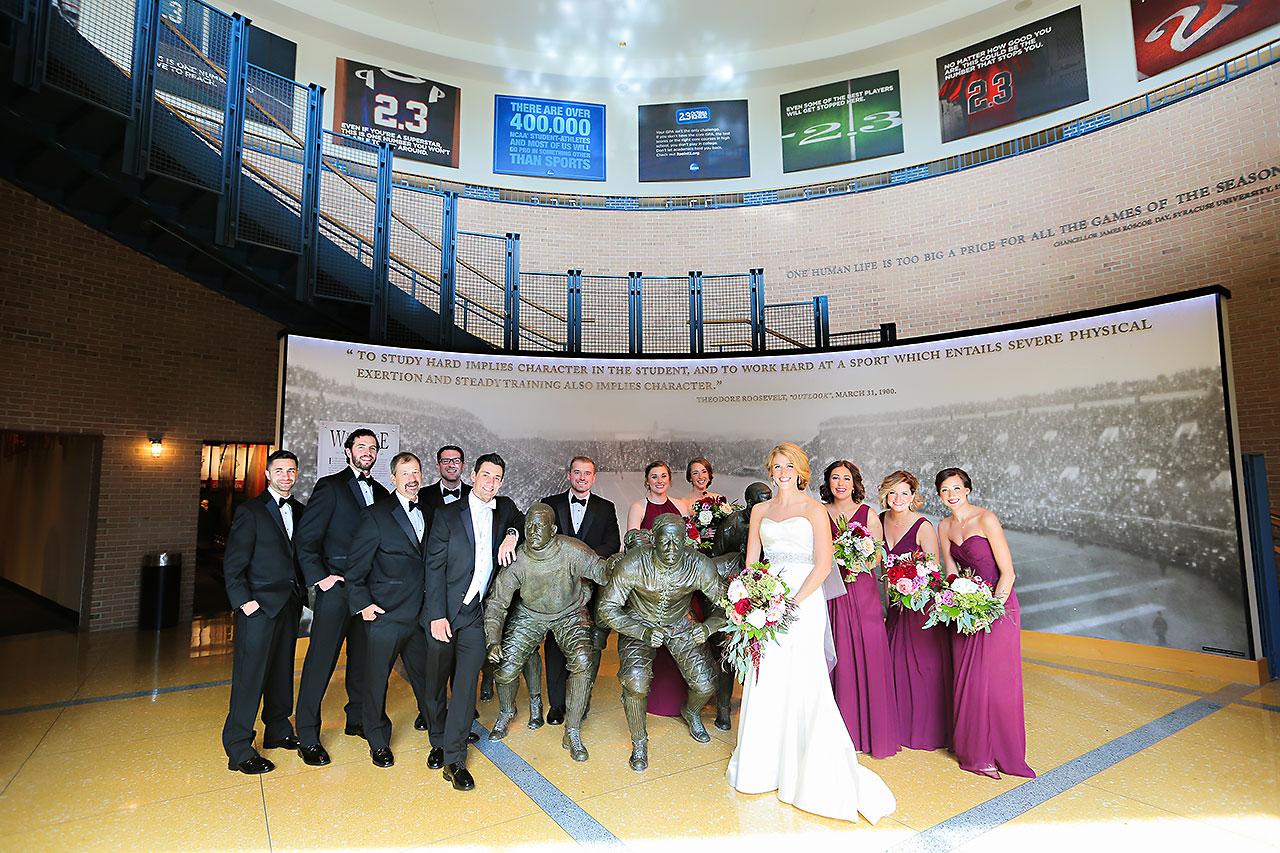 Kayci Matt Indiana Roof Ballroom Indianapolis Wedding 091