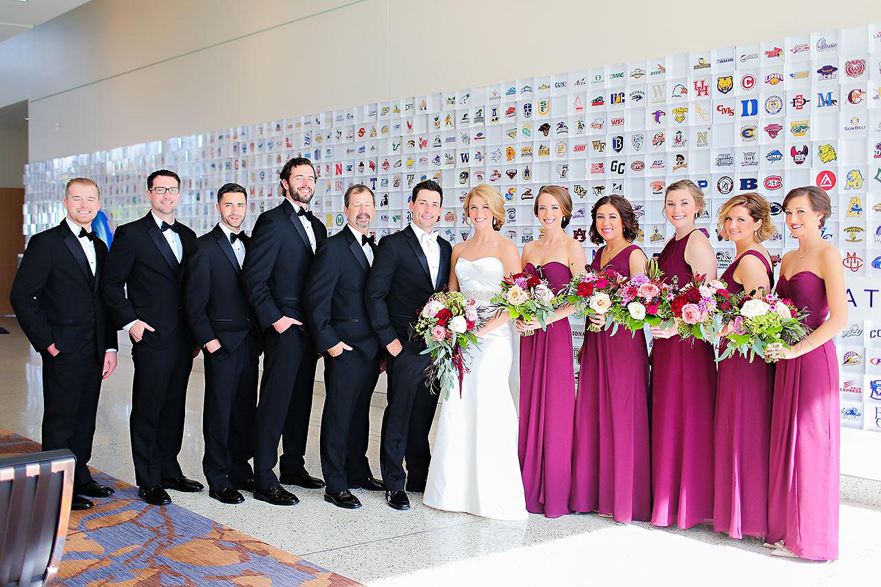 Kayci Matt Indiana Roof Ballroom Indianapolis Wedding 088