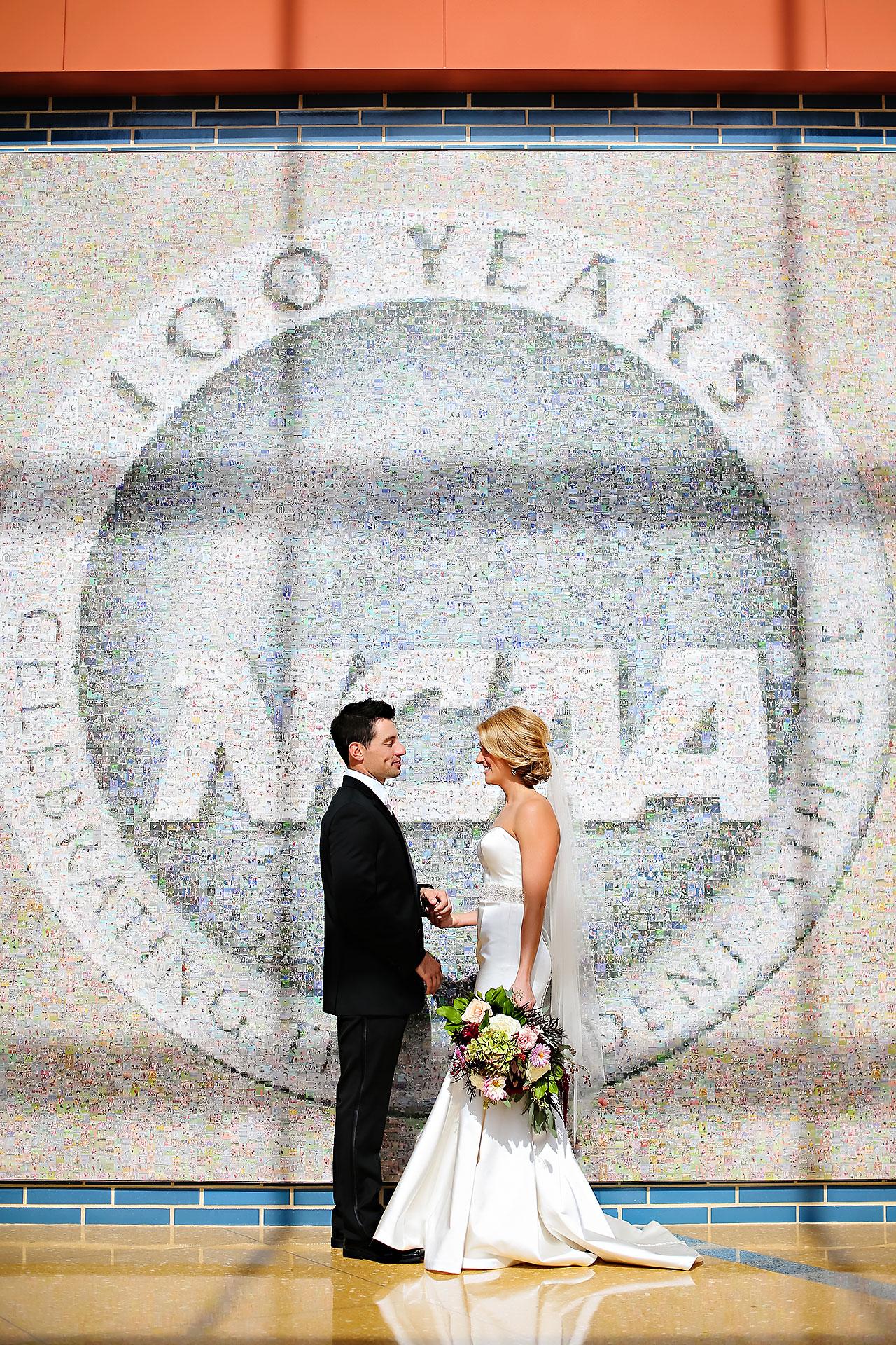 Kayci Matt Indiana Roof Ballroom Indianapolis Wedding 086