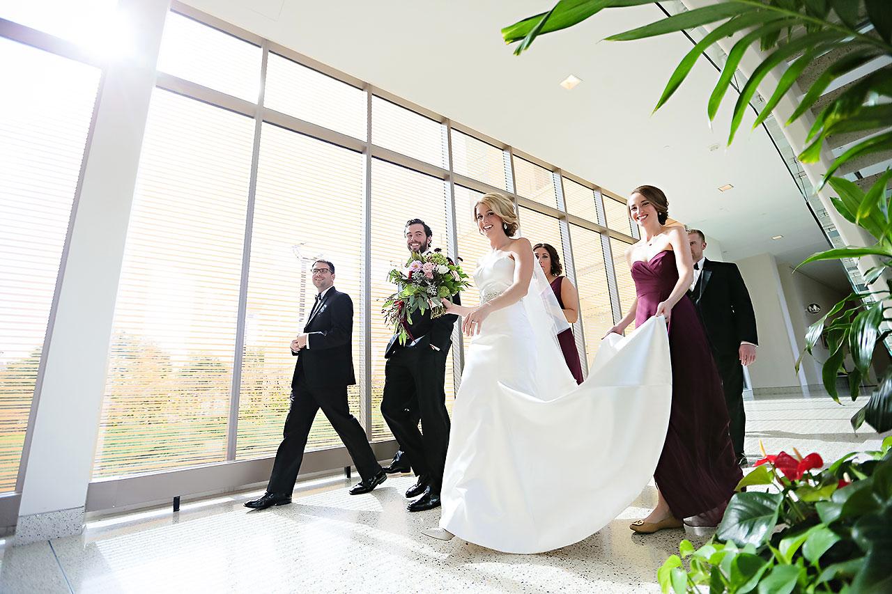 Kayci Matt Indiana Roof Ballroom Indianapolis Wedding 087