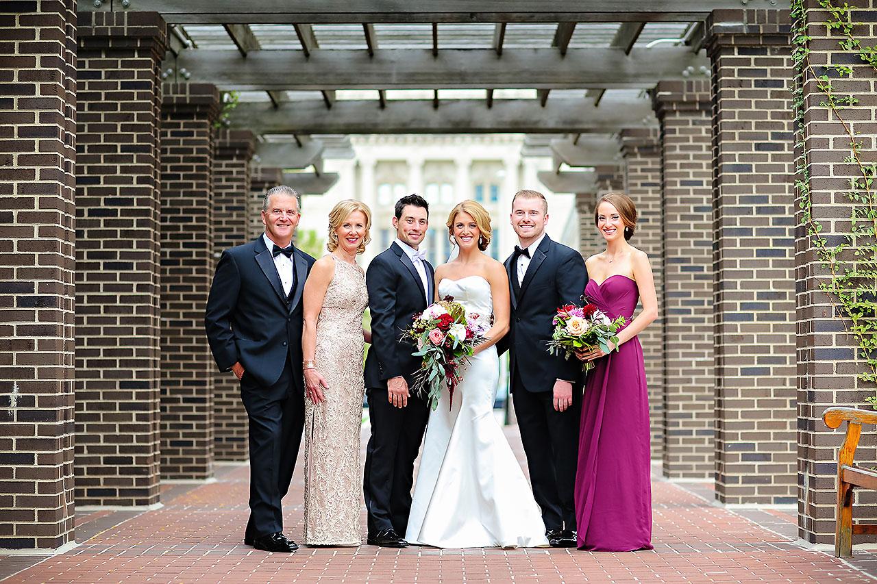 Kayci Matt Indiana Roof Ballroom Indianapolis Wedding 080