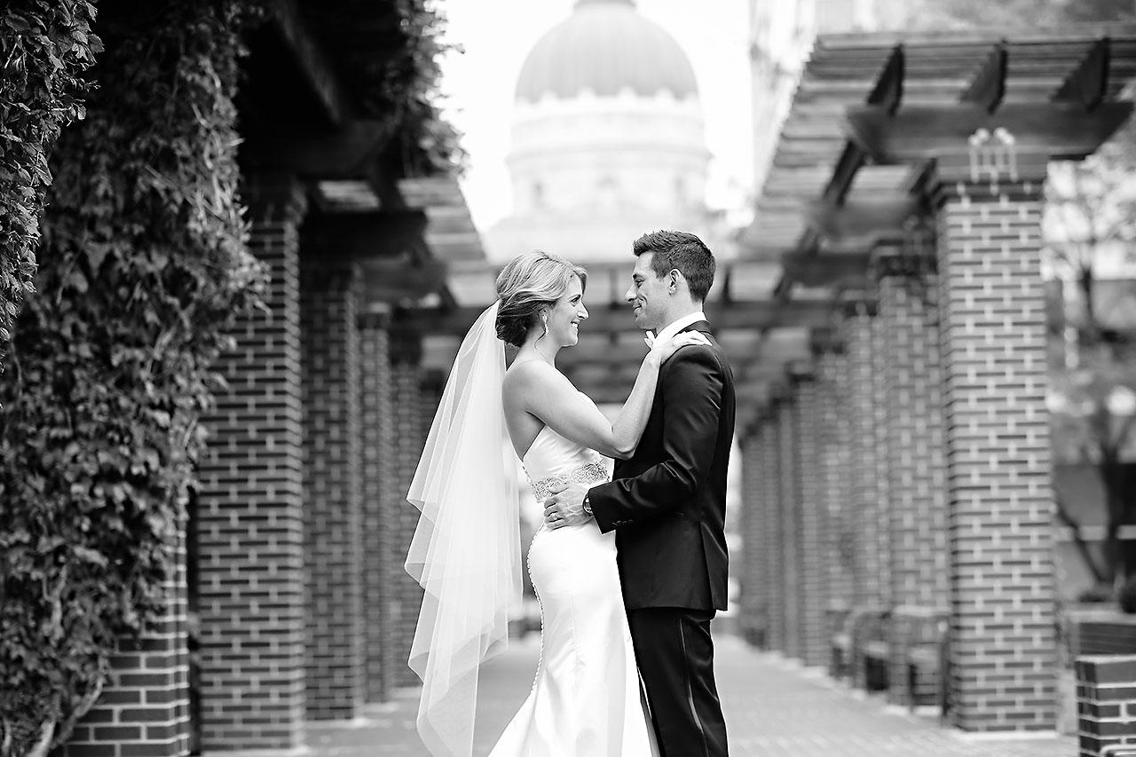 Kayci Matt Indiana Roof Ballroom Indianapolis Wedding 081
