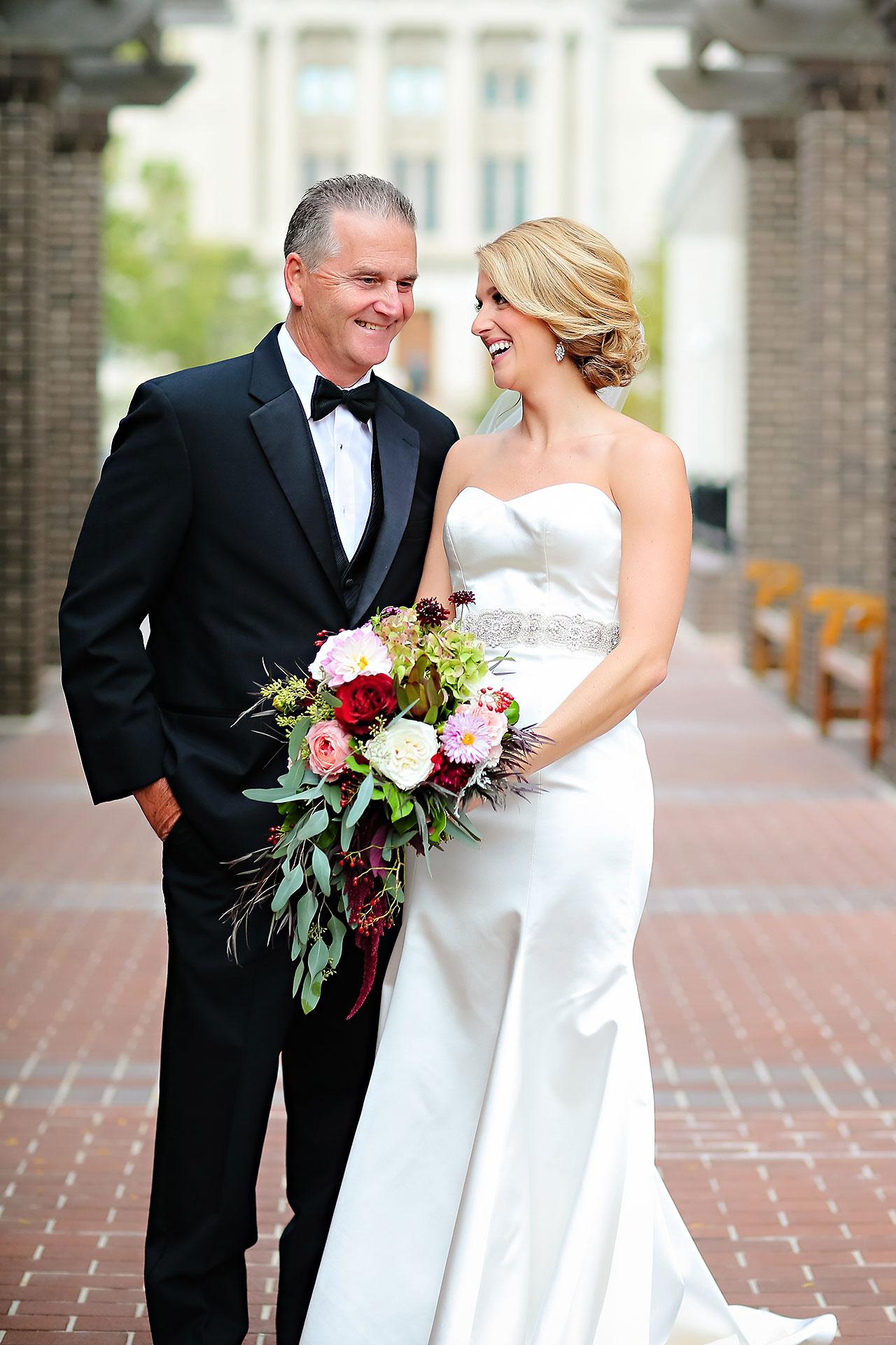 Kayci Matt Indiana Roof Ballroom Indianapolis Wedding 075