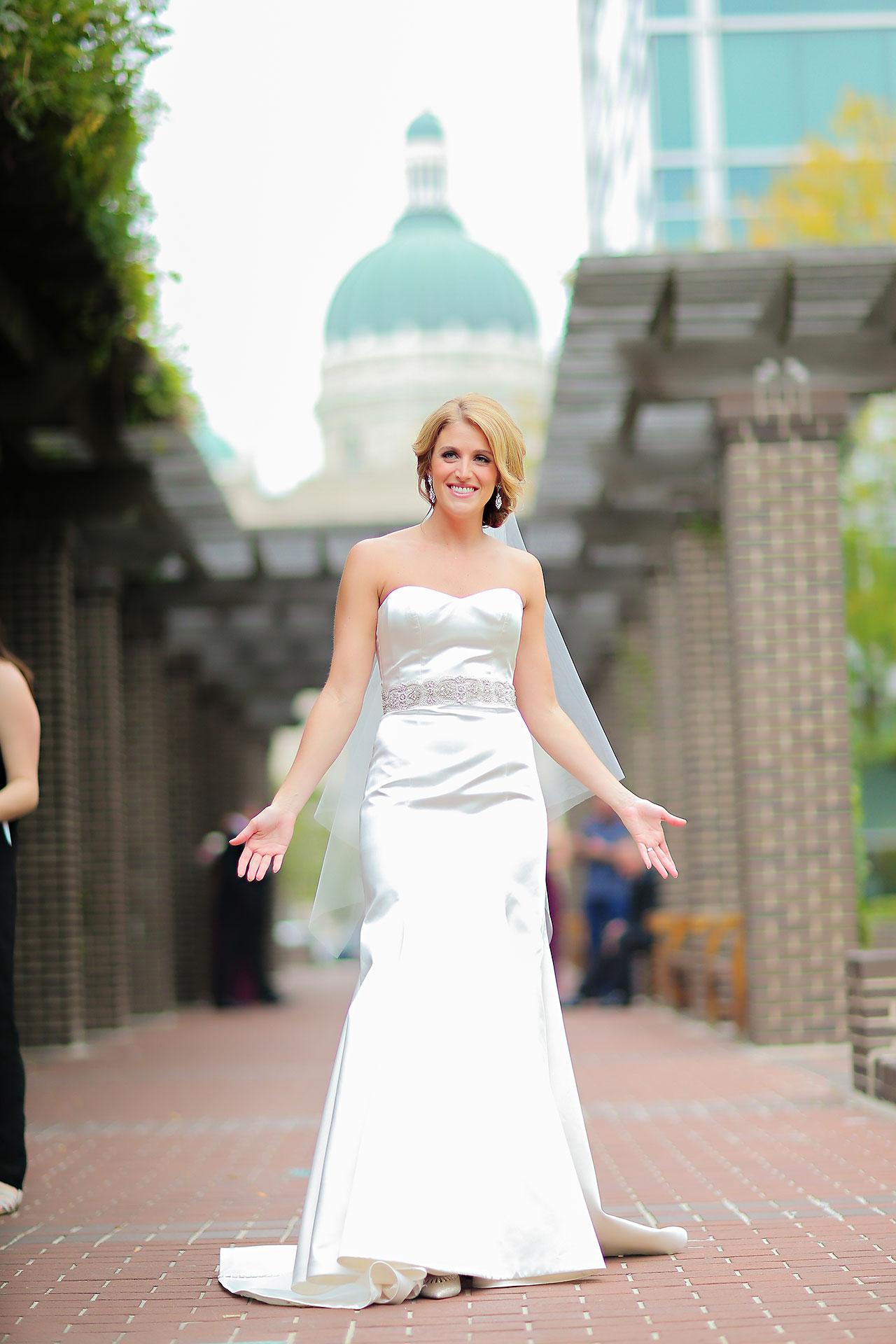 Kayci Matt Indiana Roof Ballroom Indianapolis Wedding 067