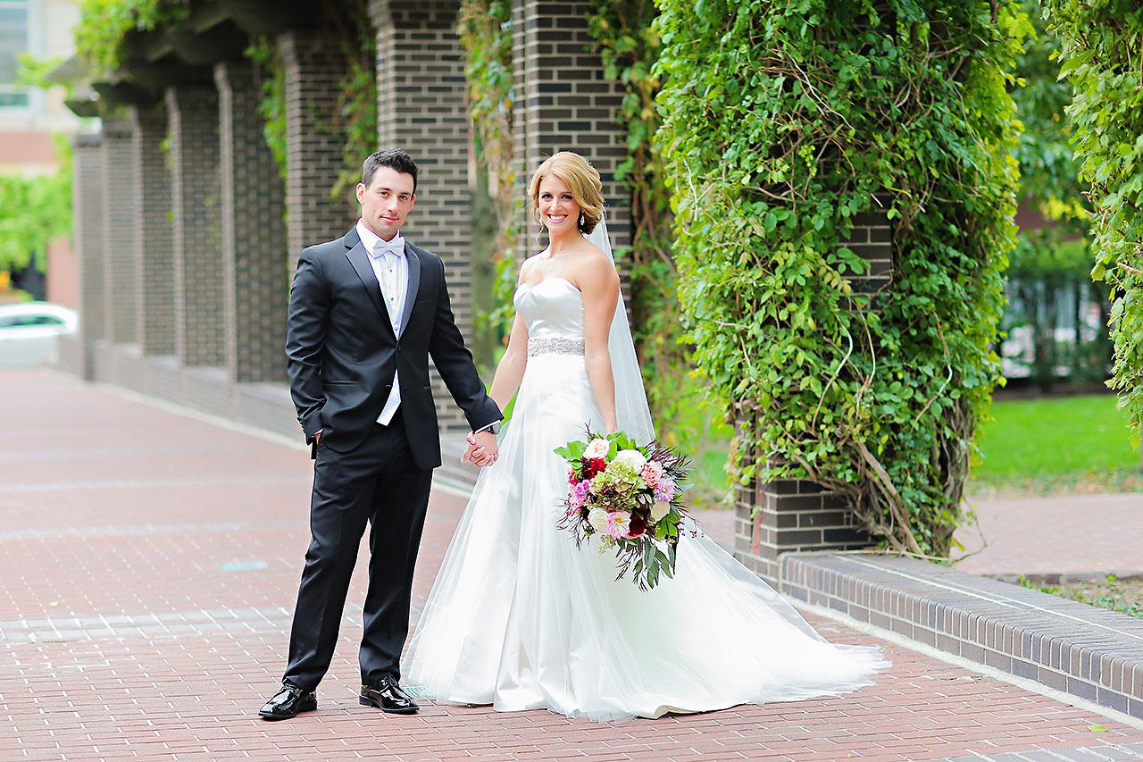 Kayci Matt Indiana Roof Ballroom Indianapolis Wedding 061
