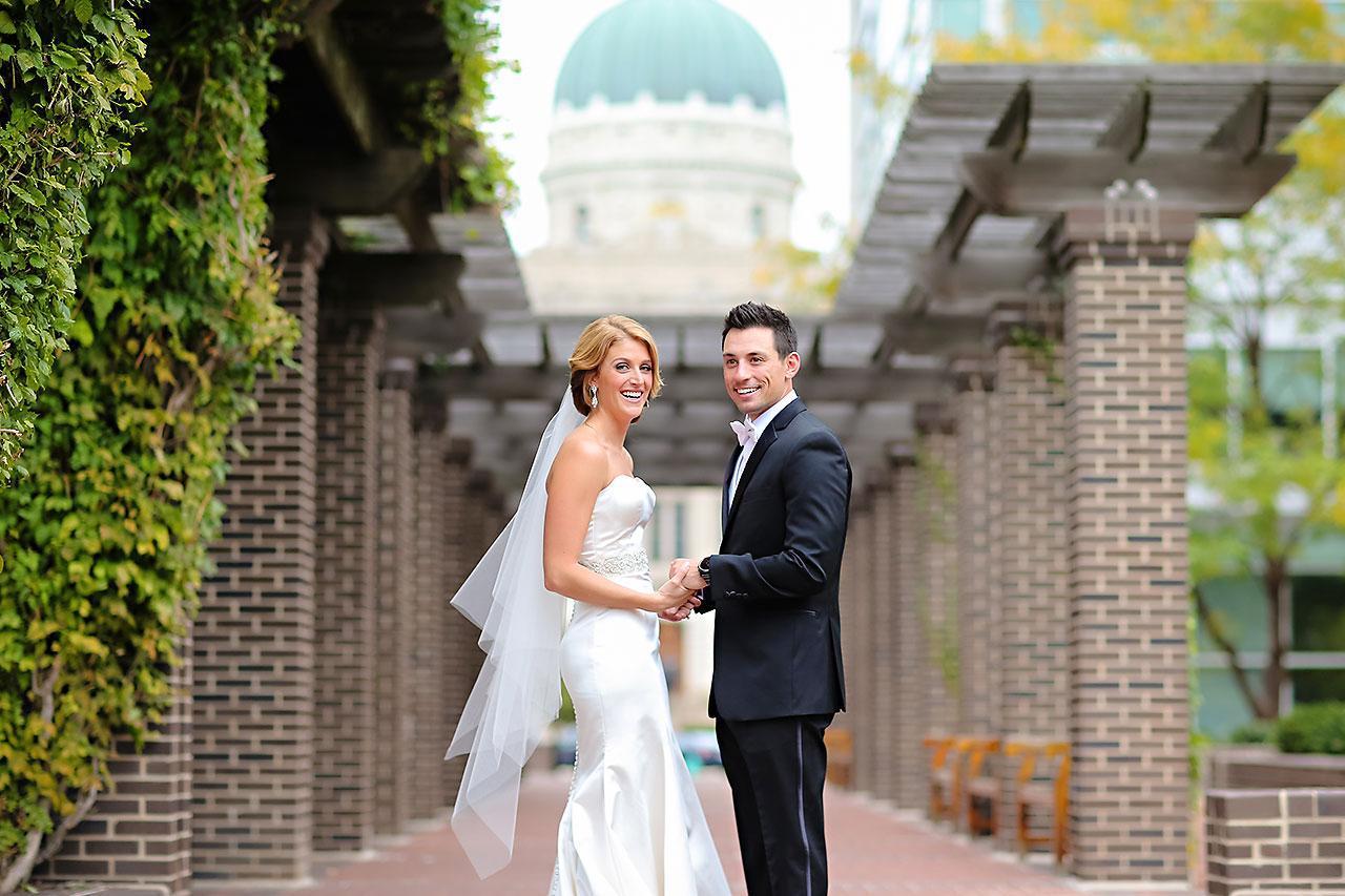 Kayci Matt Indiana Roof Ballroom Indianapolis Wedding 063