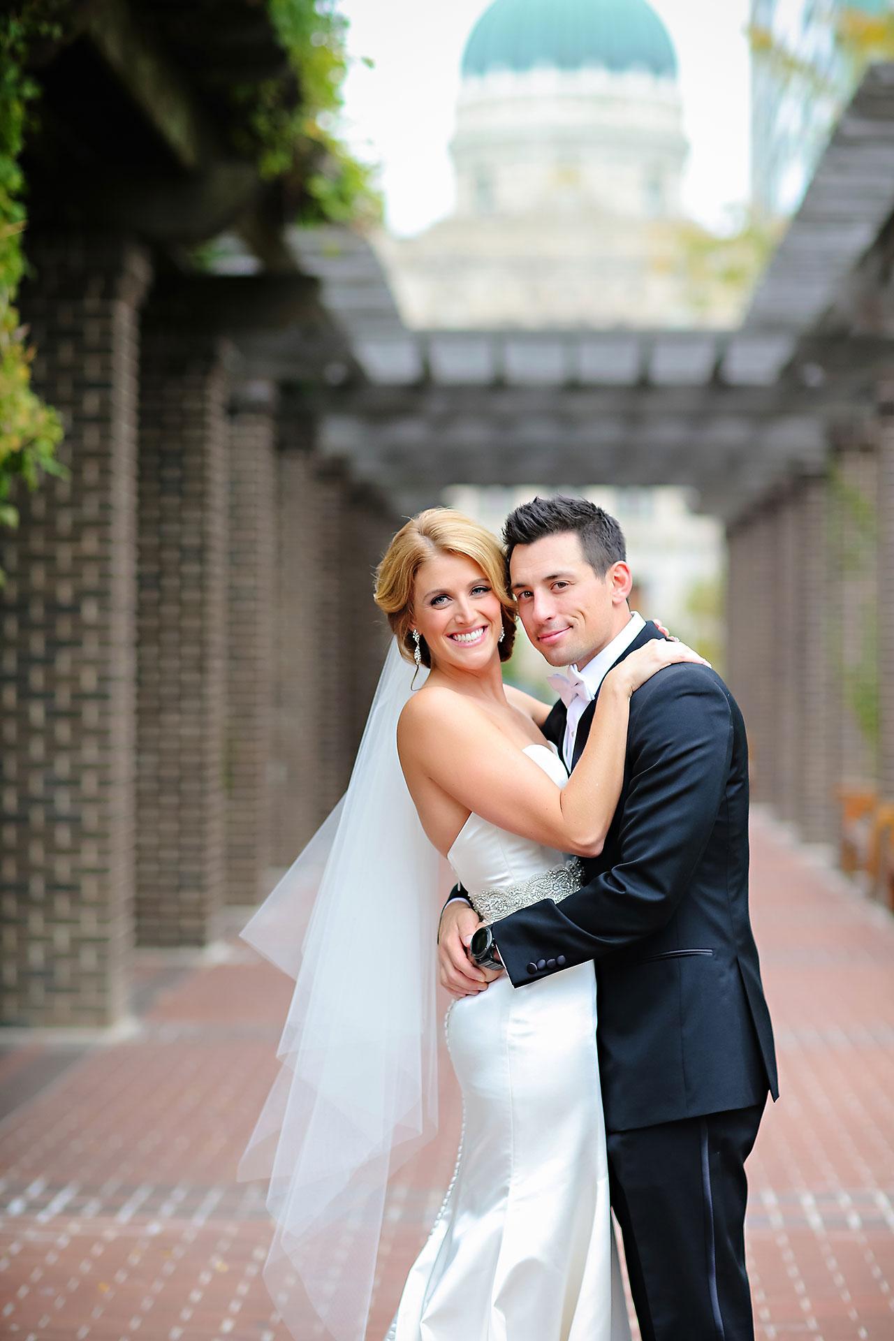 Kayci Matt Indiana Roof Ballroom Indianapolis Wedding 059
