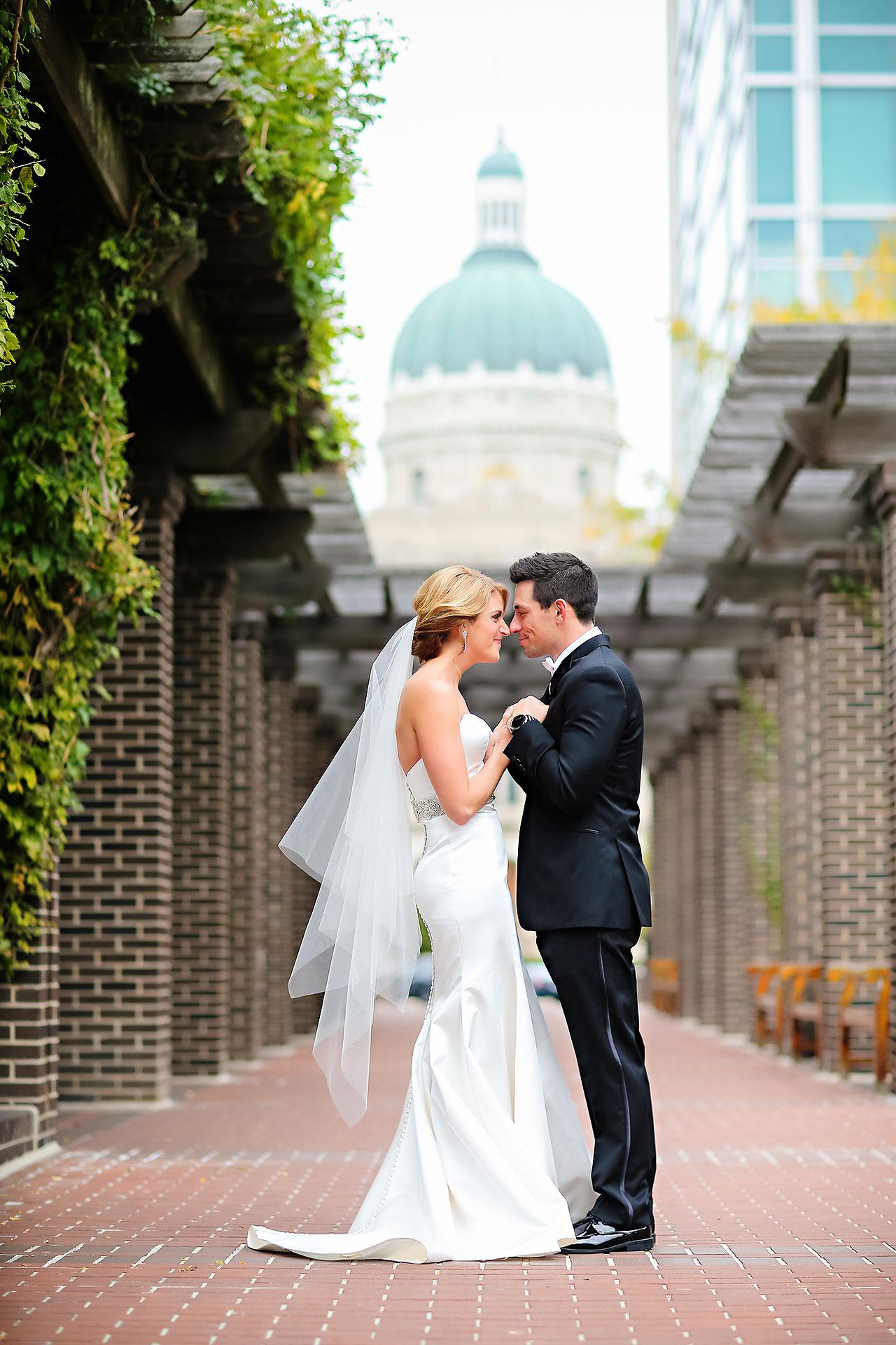 Kayci Matt Indiana Roof Ballroom Indianapolis Wedding 057