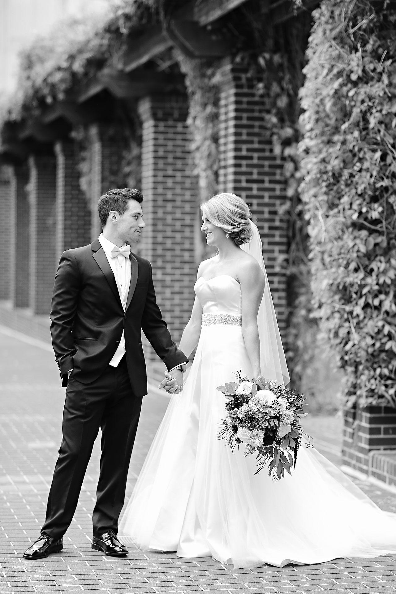 Kayci Matt Indiana Roof Ballroom Indianapolis Wedding 055