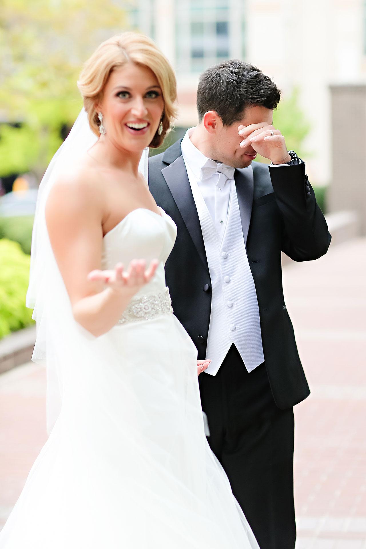 Kayci Matt Indiana Roof Ballroom Indianapolis Wedding 050