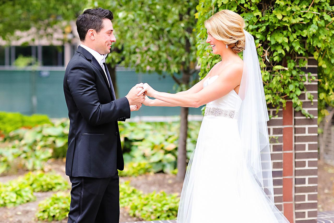 Kayci Matt Indiana Roof Ballroom Indianapolis Wedding 051