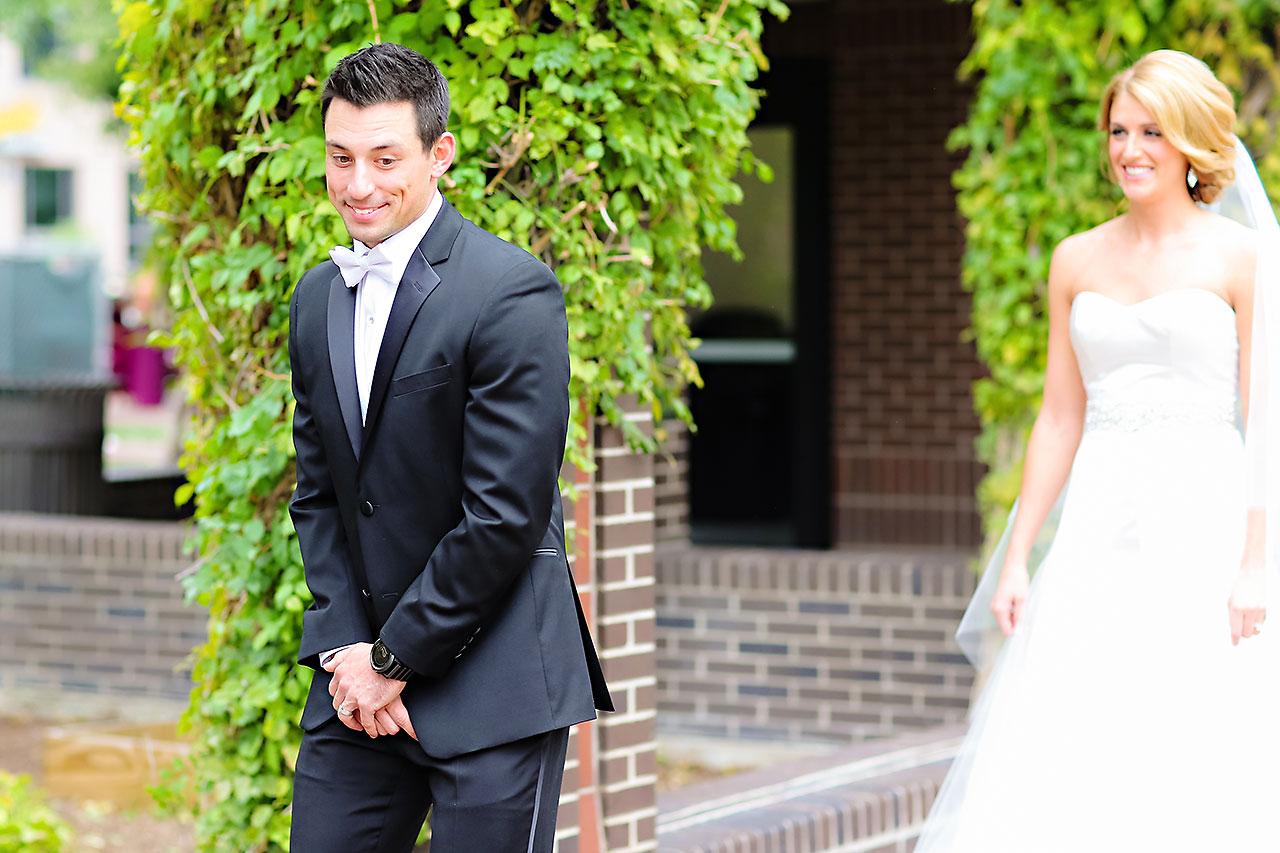 Kayci Matt Indiana Roof Ballroom Indianapolis Wedding 045