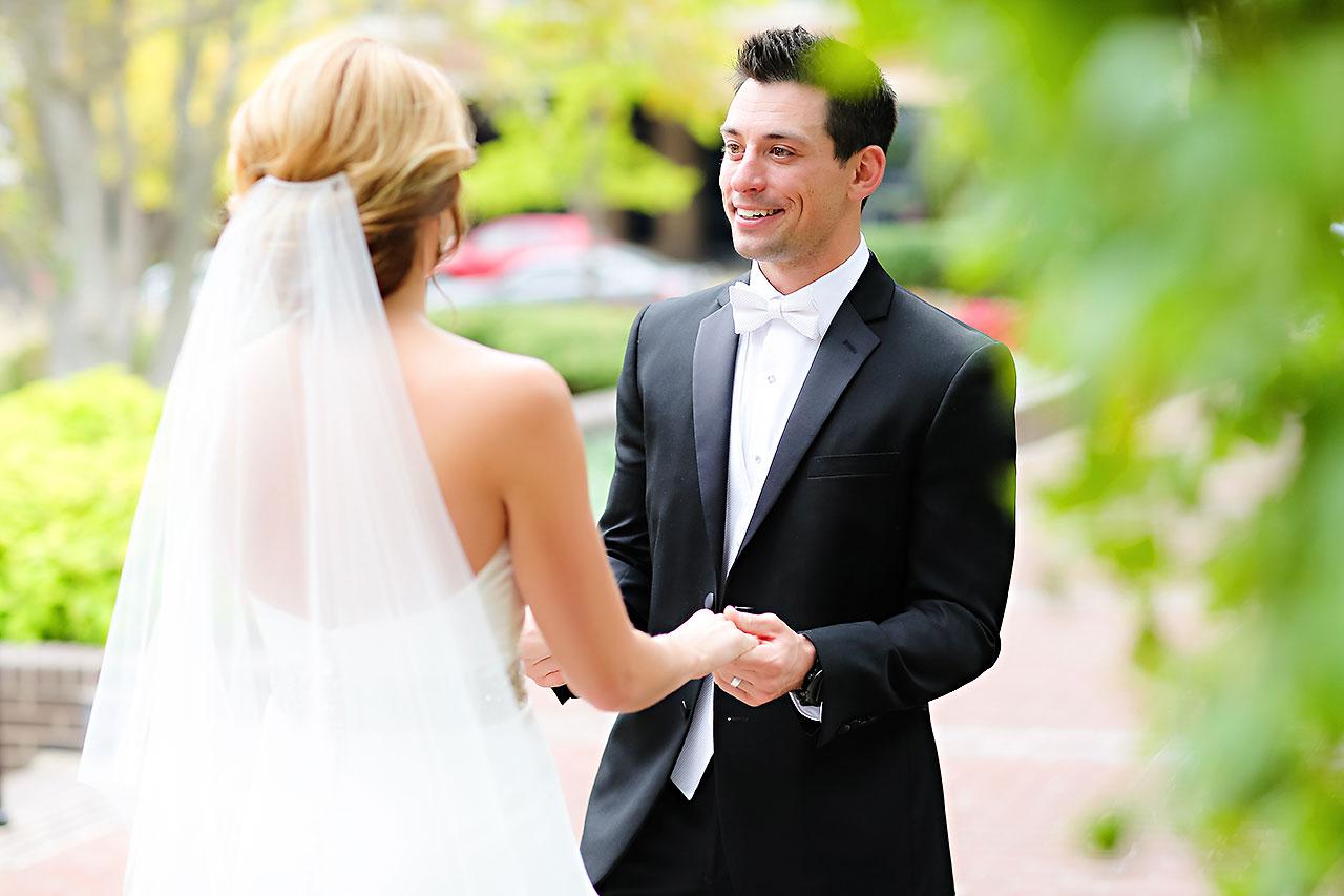 Kayci Matt Indiana Roof Ballroom Indianapolis Wedding 046