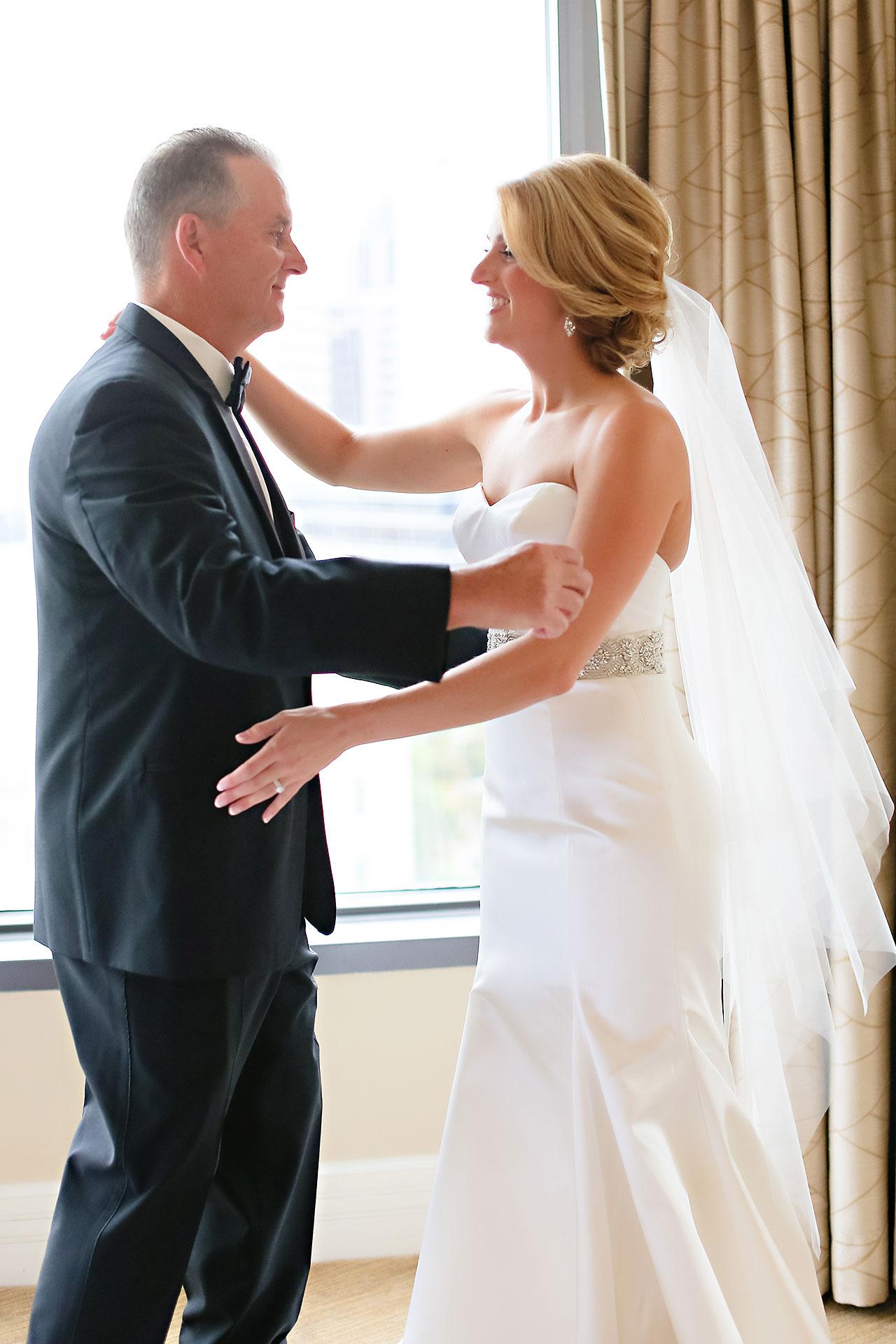 Kayci Matt Indiana Roof Ballroom Indianapolis Wedding 032