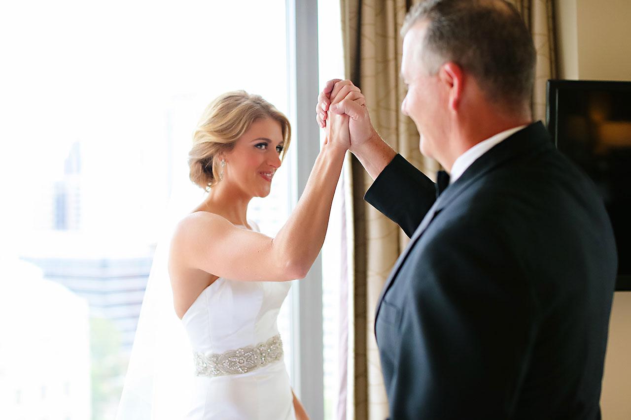 Kayci Matt Indiana Roof Ballroom Indianapolis Wedding 033