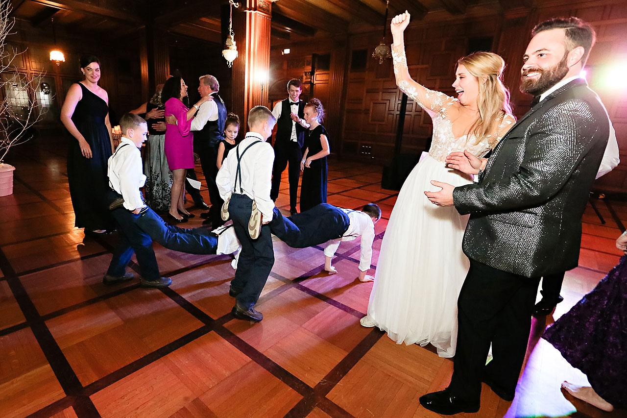 Emily Tom Scottish Rite Indianapolis Wedding 399