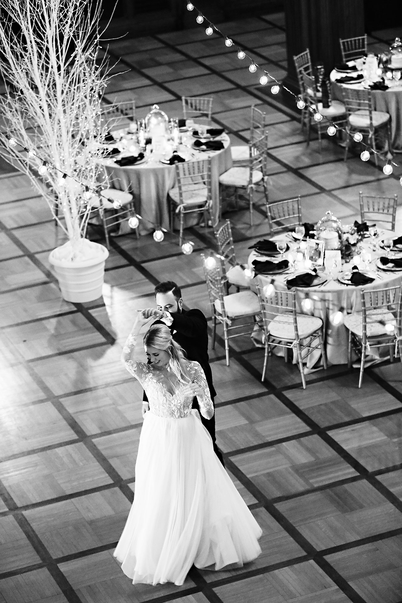 Emily Tom Scottish Rite Indianapolis Wedding 306