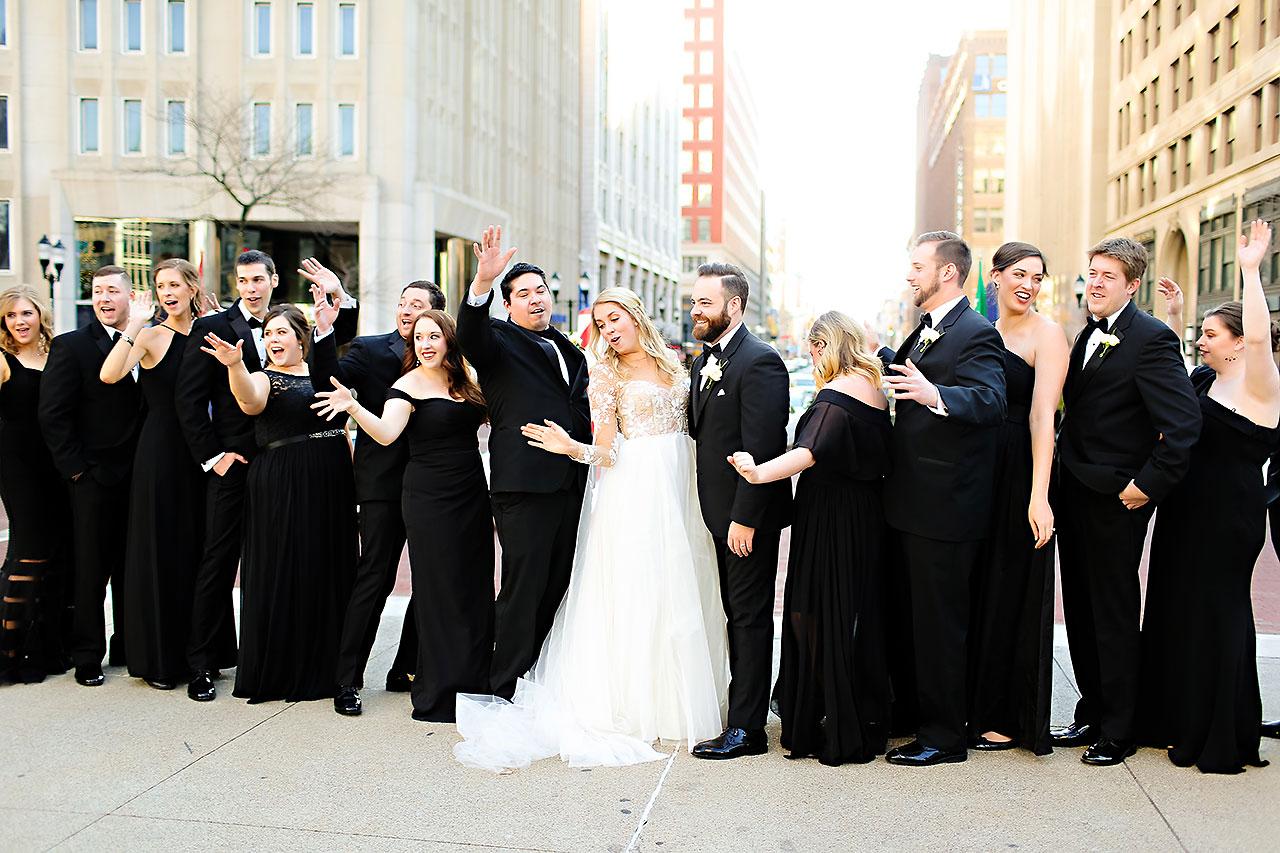 Emily Tom Scottish Rite Indianapolis Wedding 186