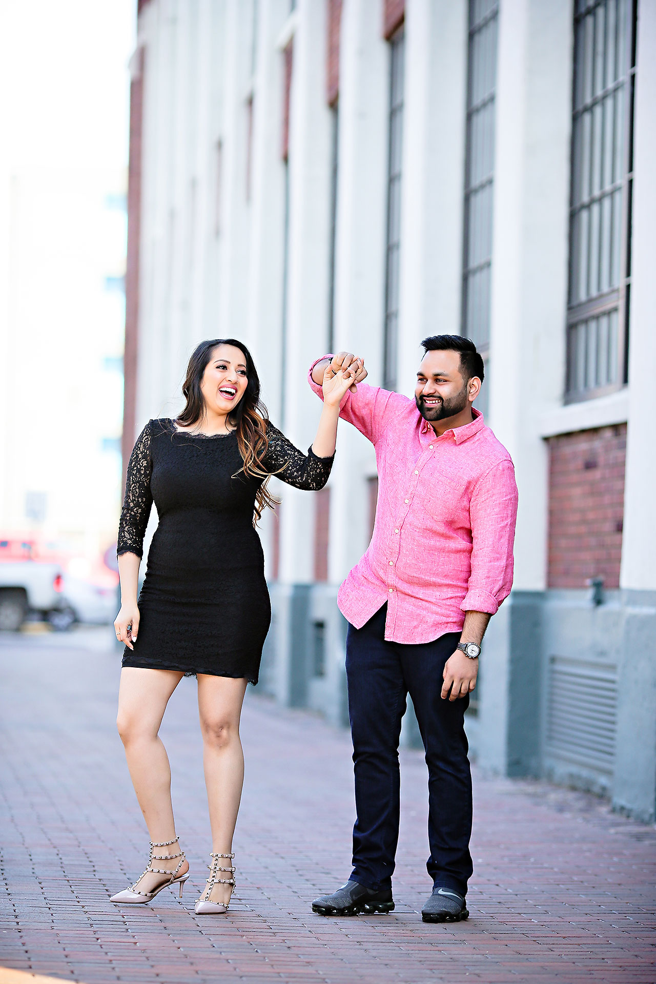 Riddhi Aakash Engagement 100