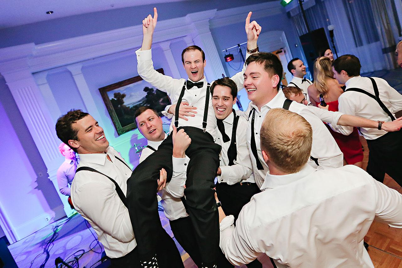 Kaitlin Garret Columbia Club Indianapolis Wedding 383