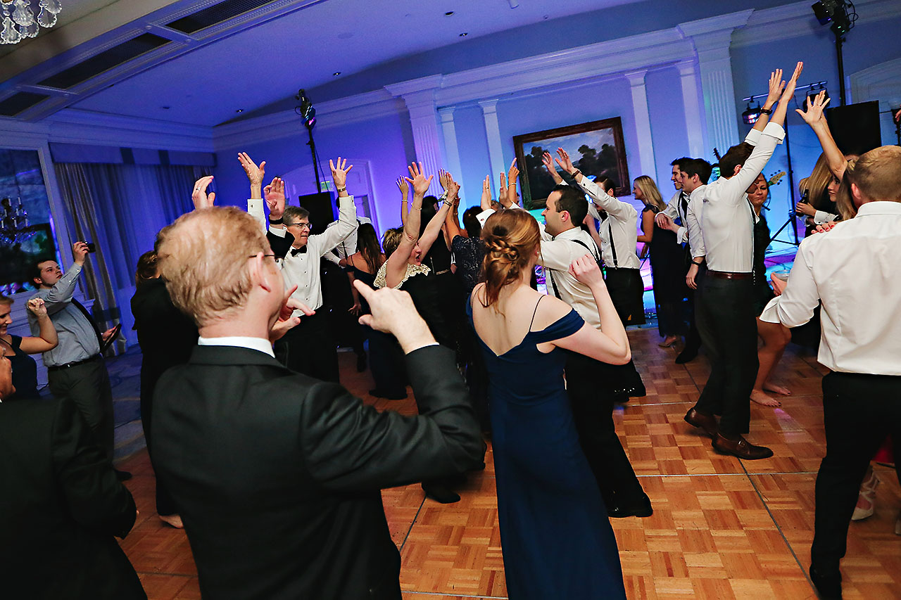 Kaitlin Garret Columbia Club Indianapolis Wedding 373