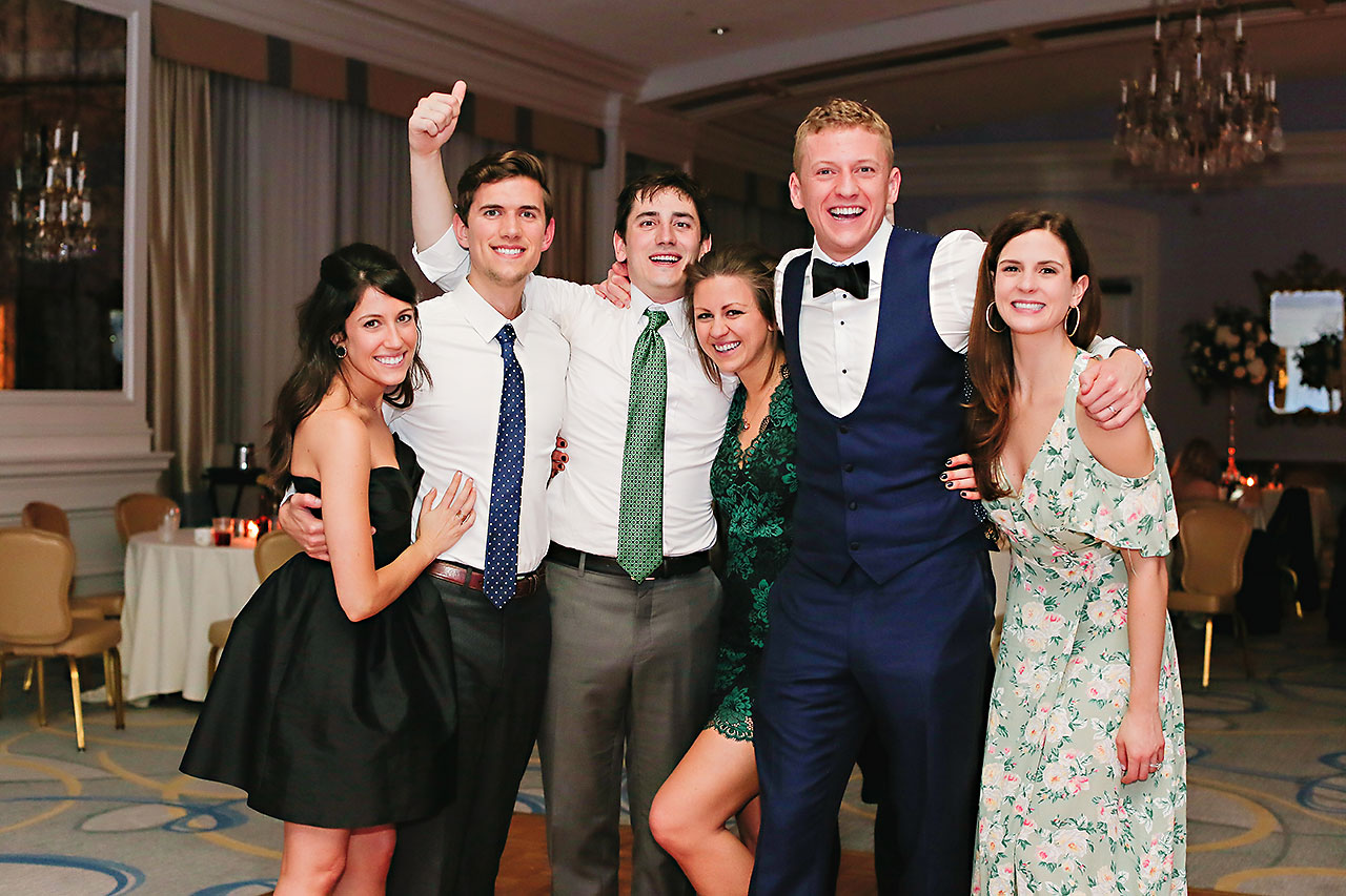 Kaitlin Garret Columbia Club Indianapolis Wedding 358