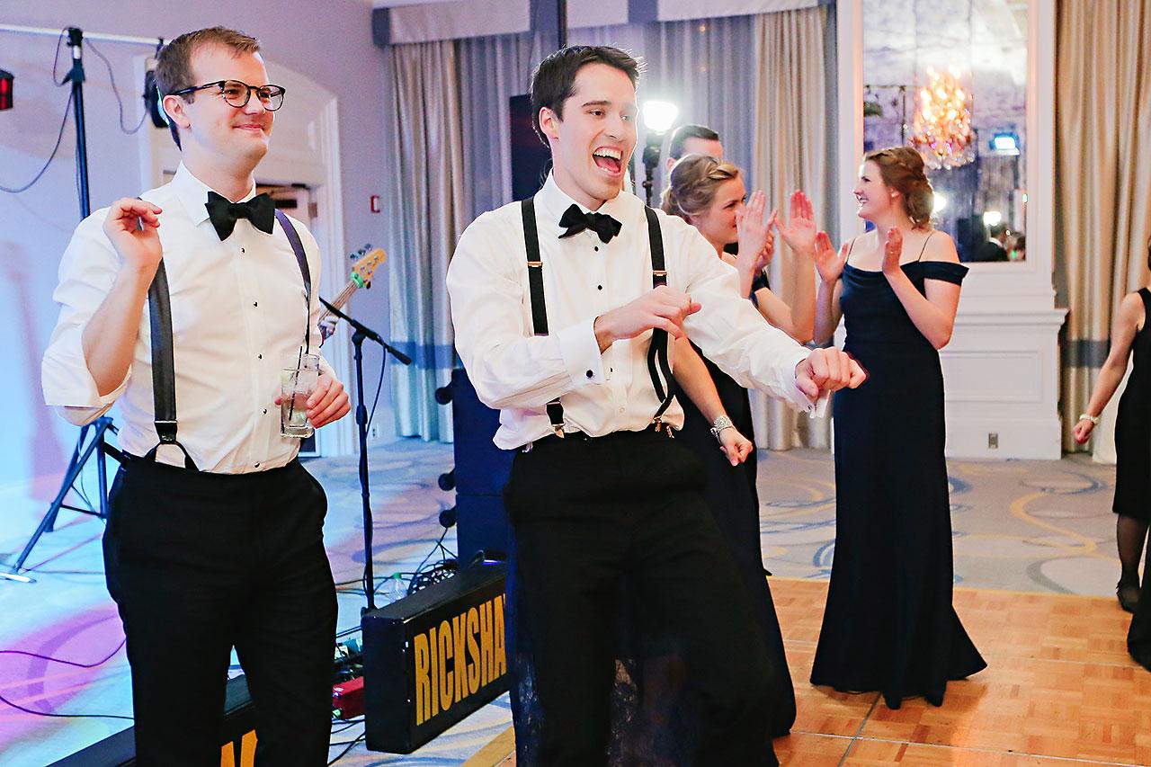 Kaitlin Garret Columbia Club Indianapolis Wedding 335