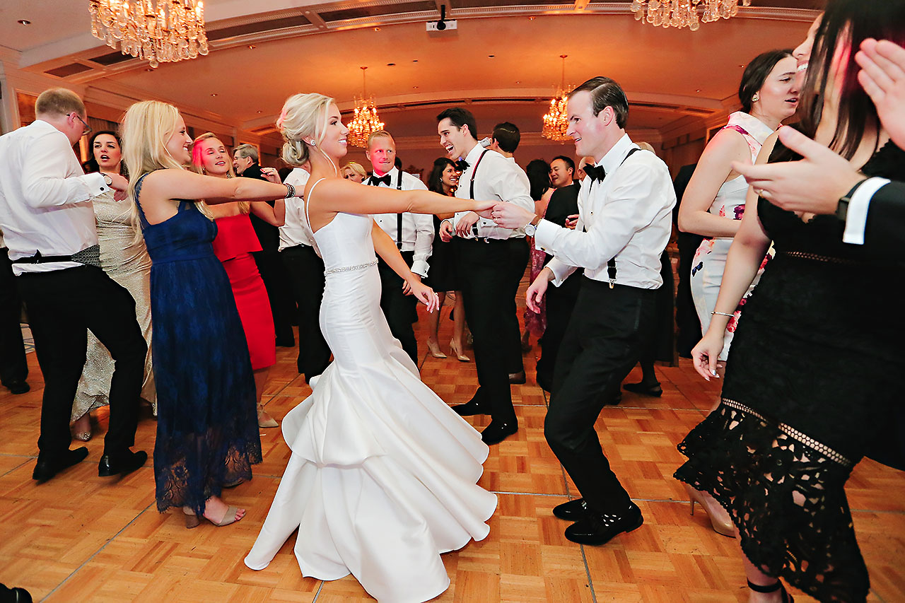 Kaitlin Garret Columbia Club Indianapolis Wedding 331
