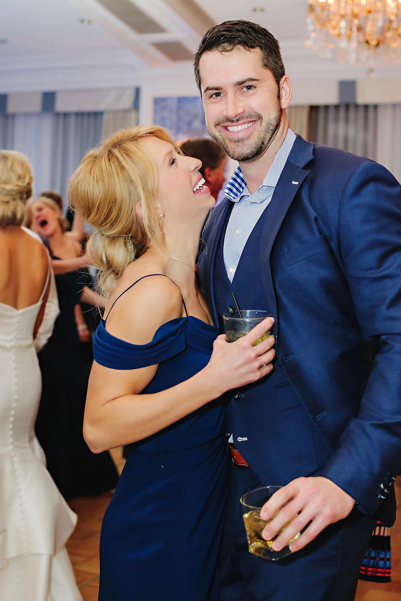 Kaitlin Garret Columbia Club Indianapolis Wedding 319
