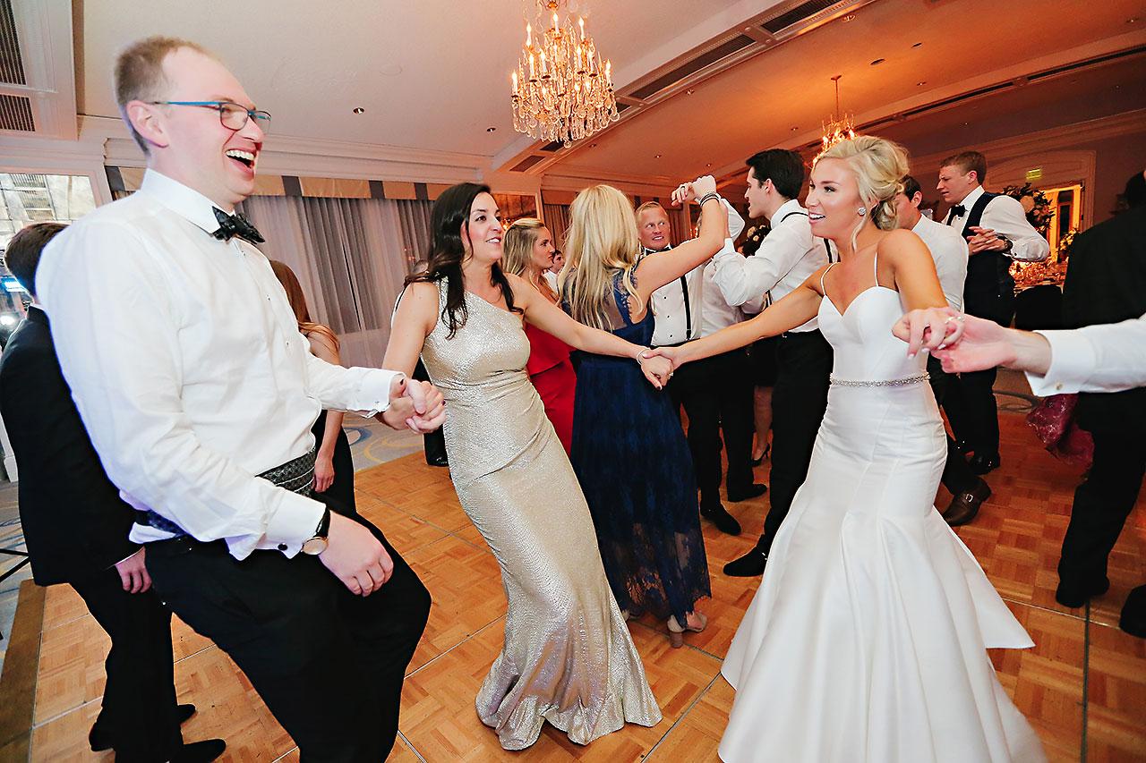 Kaitlin Garret Columbia Club Indianapolis Wedding 311