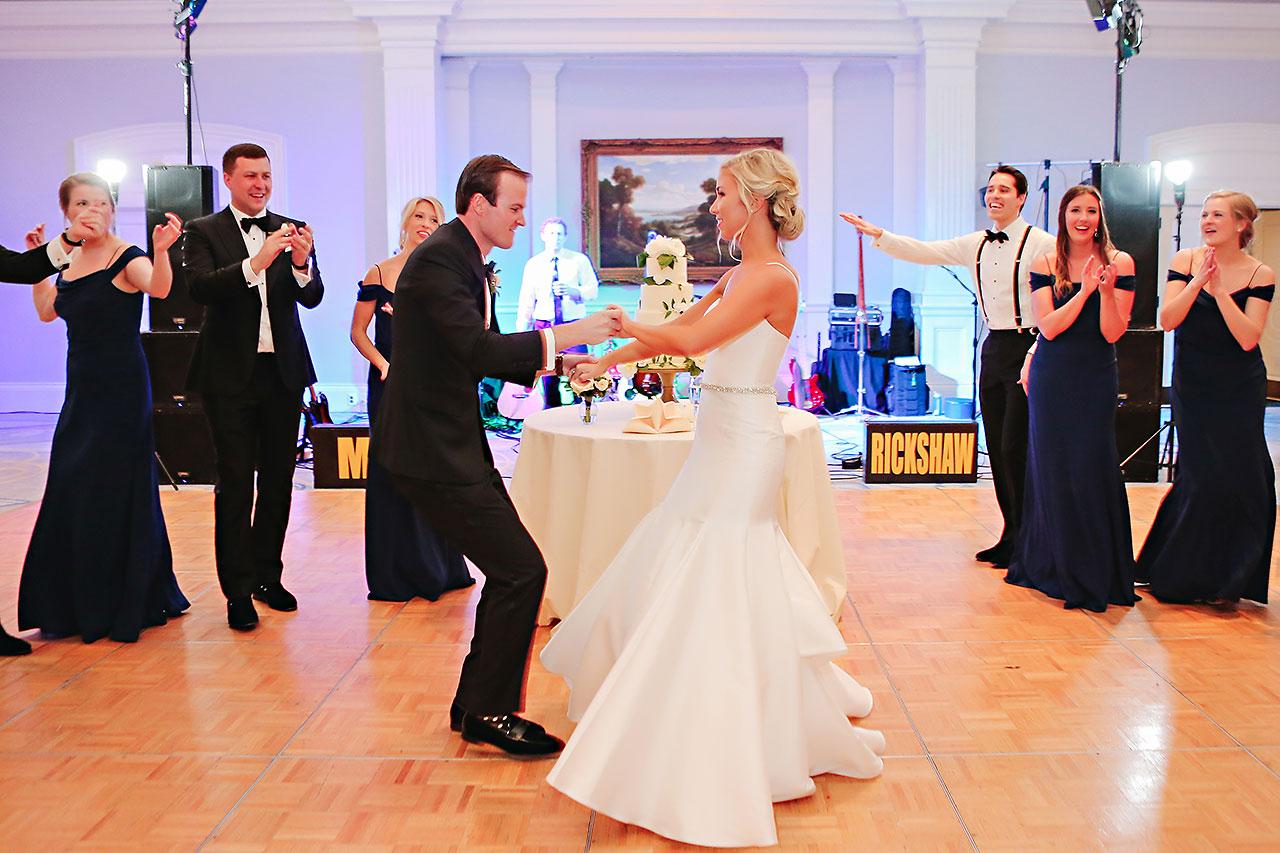 Kaitlin Garret Columbia Club Indianapolis Wedding 244