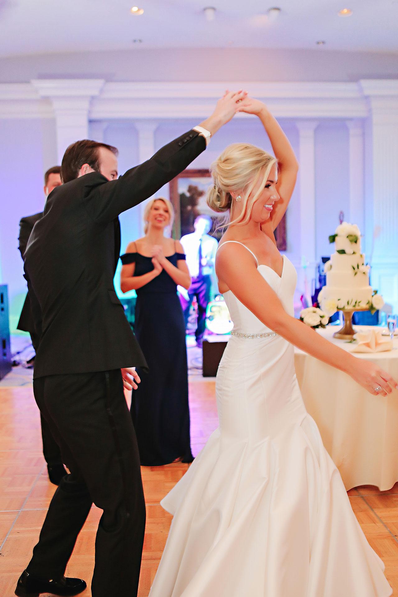 Kaitlin Garret Columbia Club Indianapolis Wedding 246