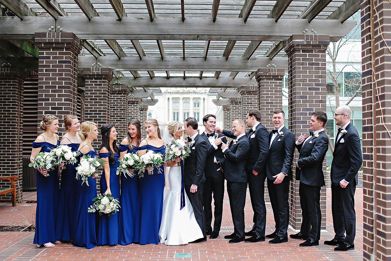 Kaitlin Garret Columbia Club Indianapolis Wedding 109