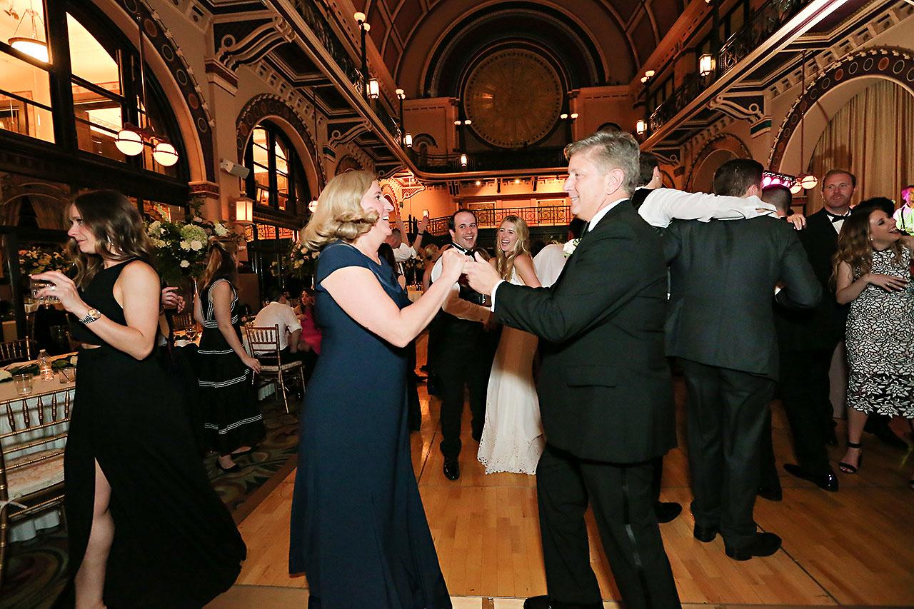 Allison Jeff Union Station Crowne Plaza Indianapolis wedding 380