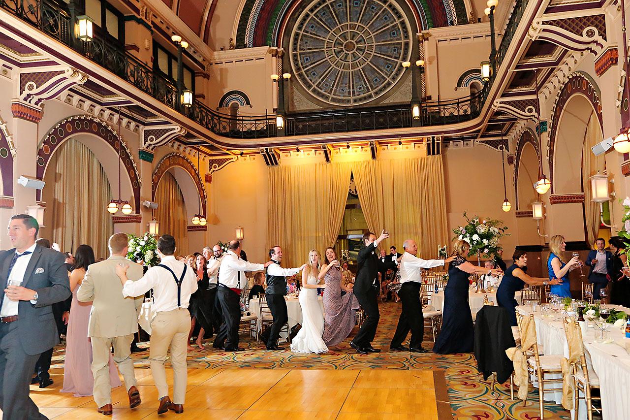 Allison Jeff Union Station Crowne Plaza Indianapolis wedding 377