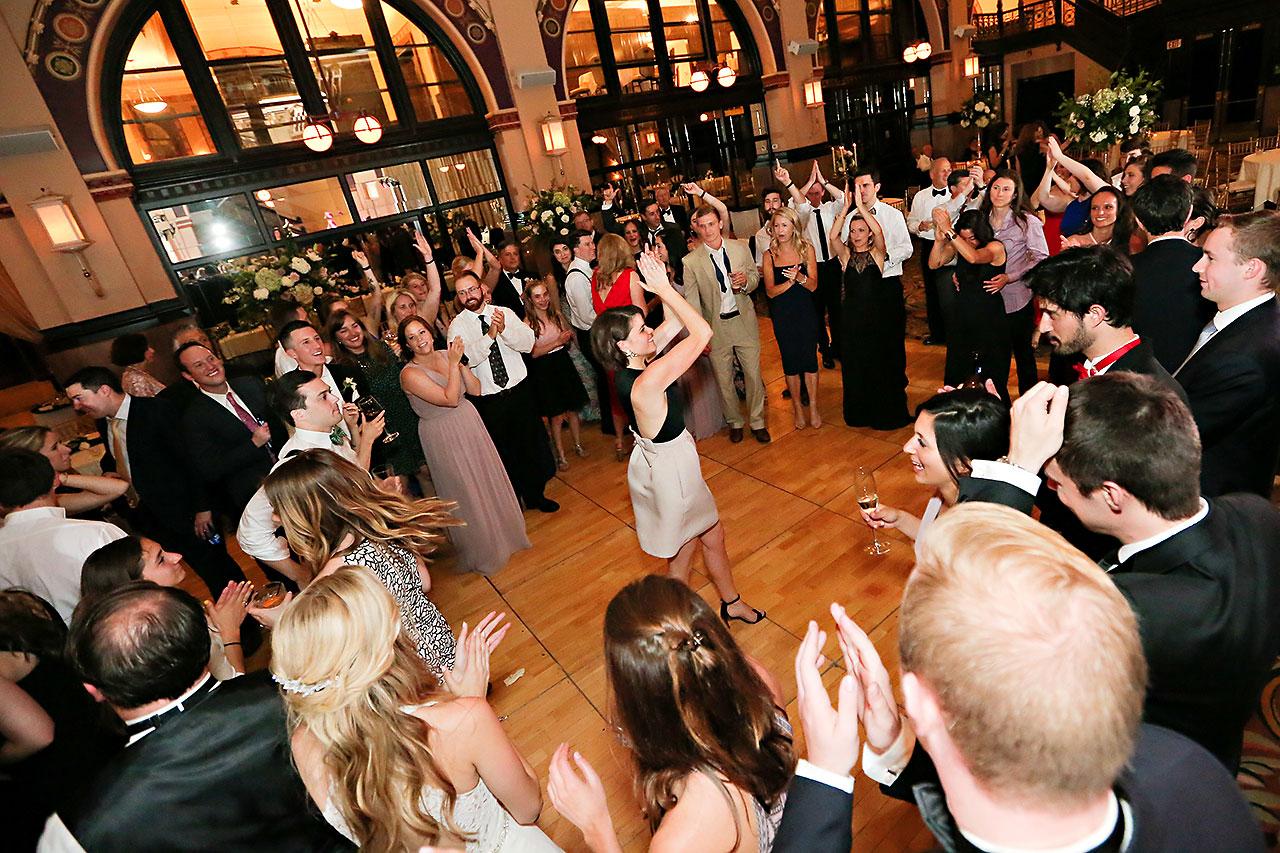 Allison Jeff Union Station Crowne Plaza Indianapolis wedding 373