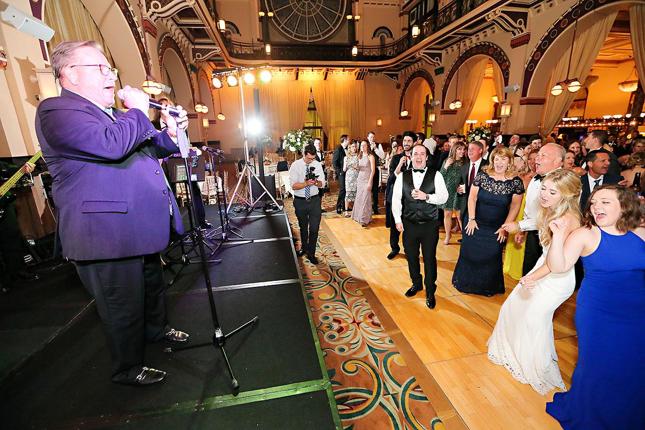 Allison Jeff Union Station Crowne Plaza Indianapolis wedding 366