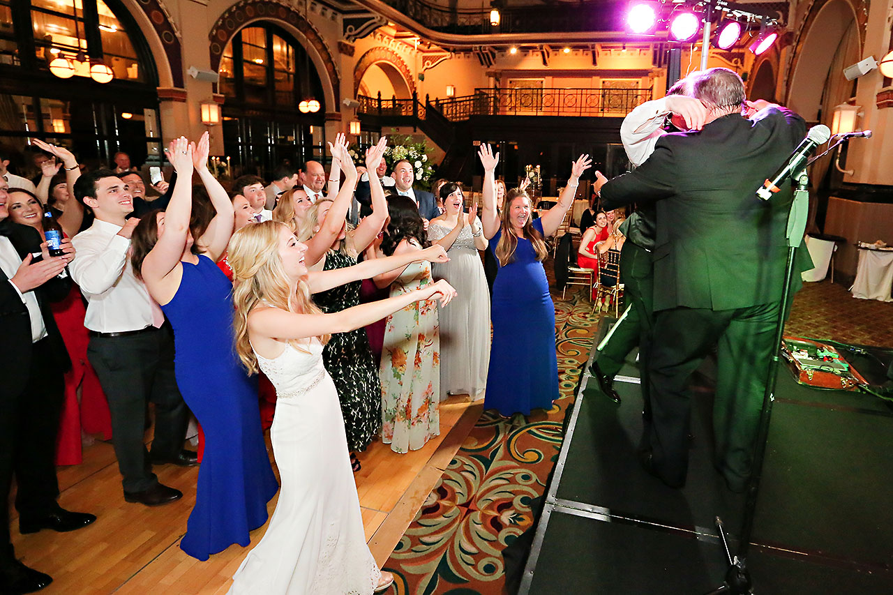 Allison Jeff Union Station Crowne Plaza Indianapolis wedding 367