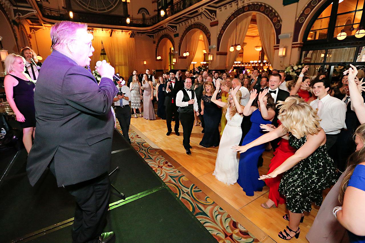 Allison Jeff Union Station Crowne Plaza Indianapolis wedding 364